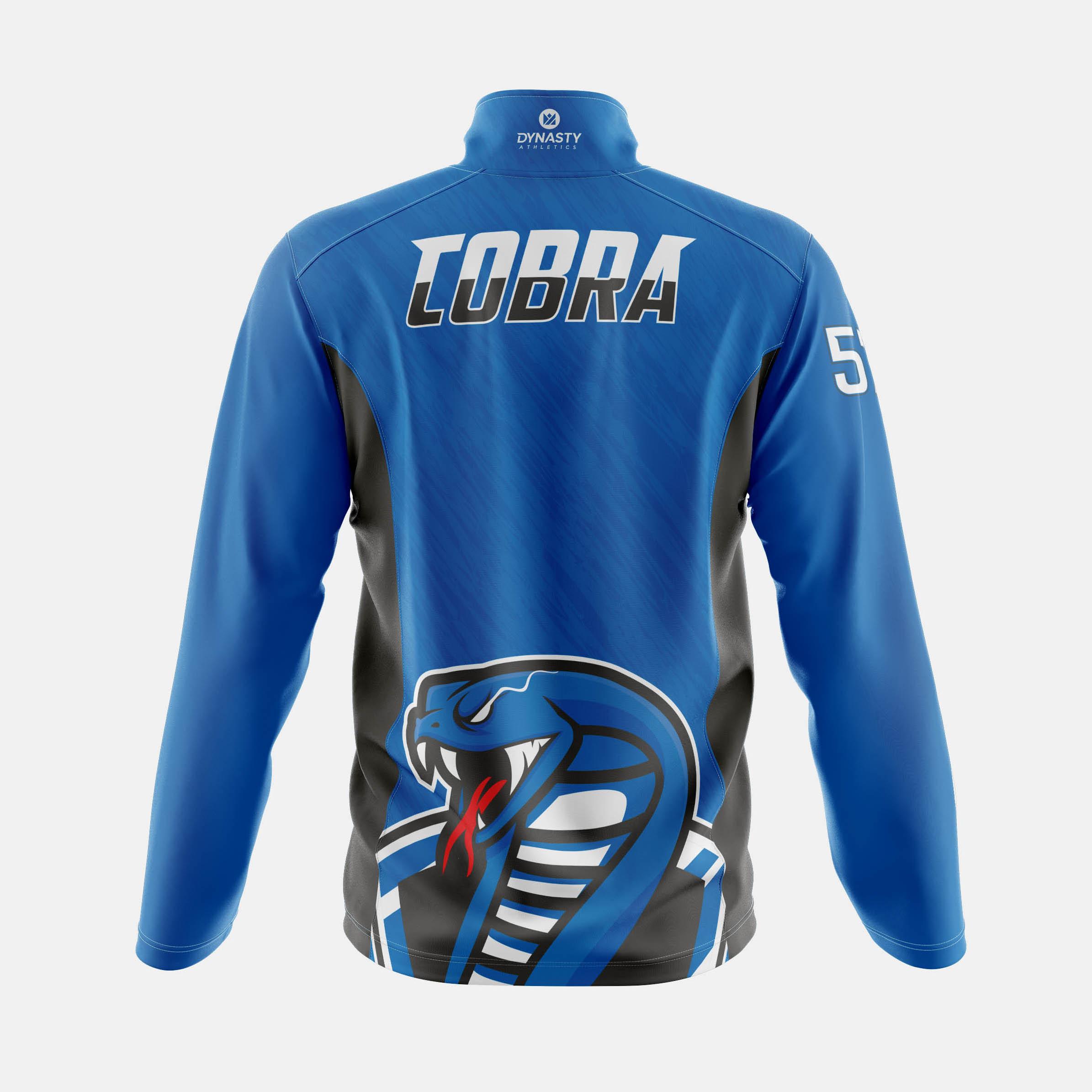Cobra Qtr Zip Tack Jacket Back View