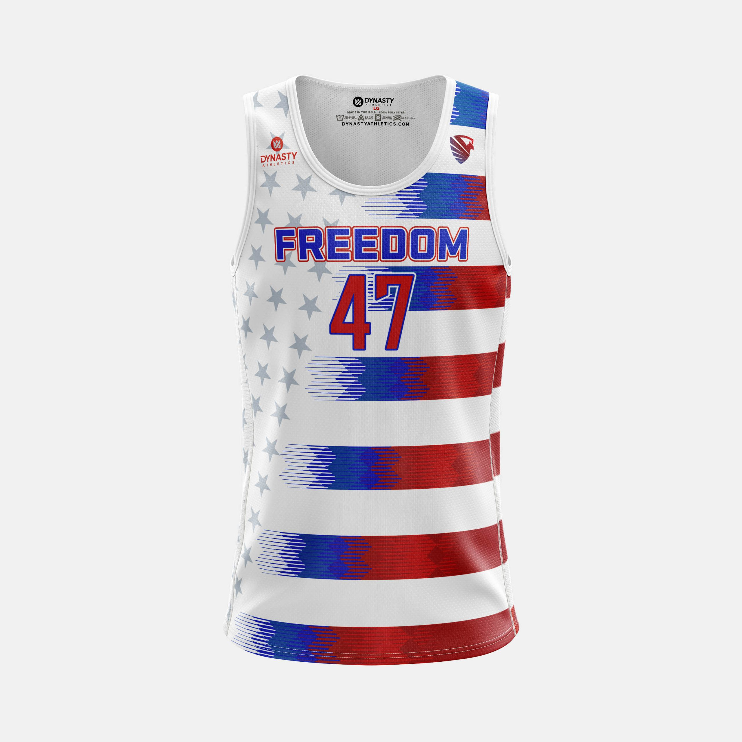 Freedom Mens Tank Front View scaled