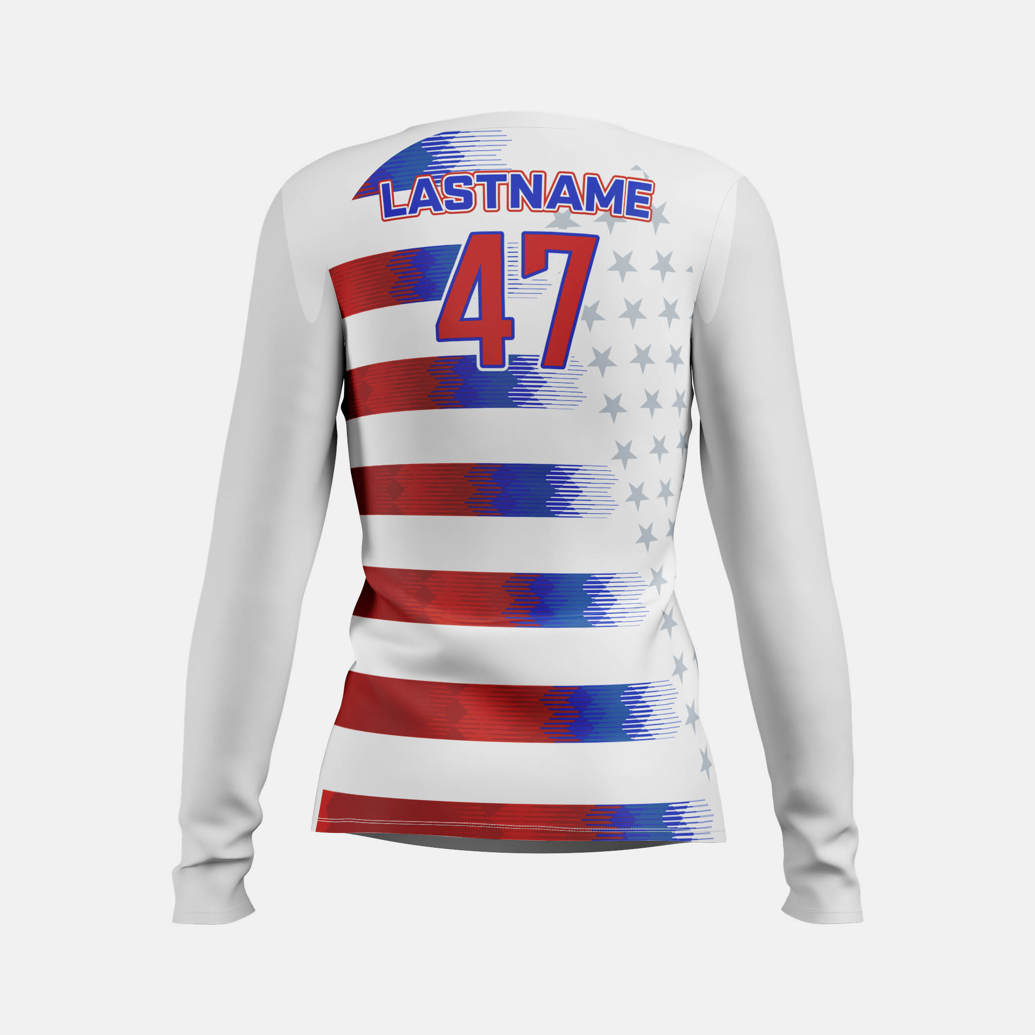 Freedom Womens LS Back View
