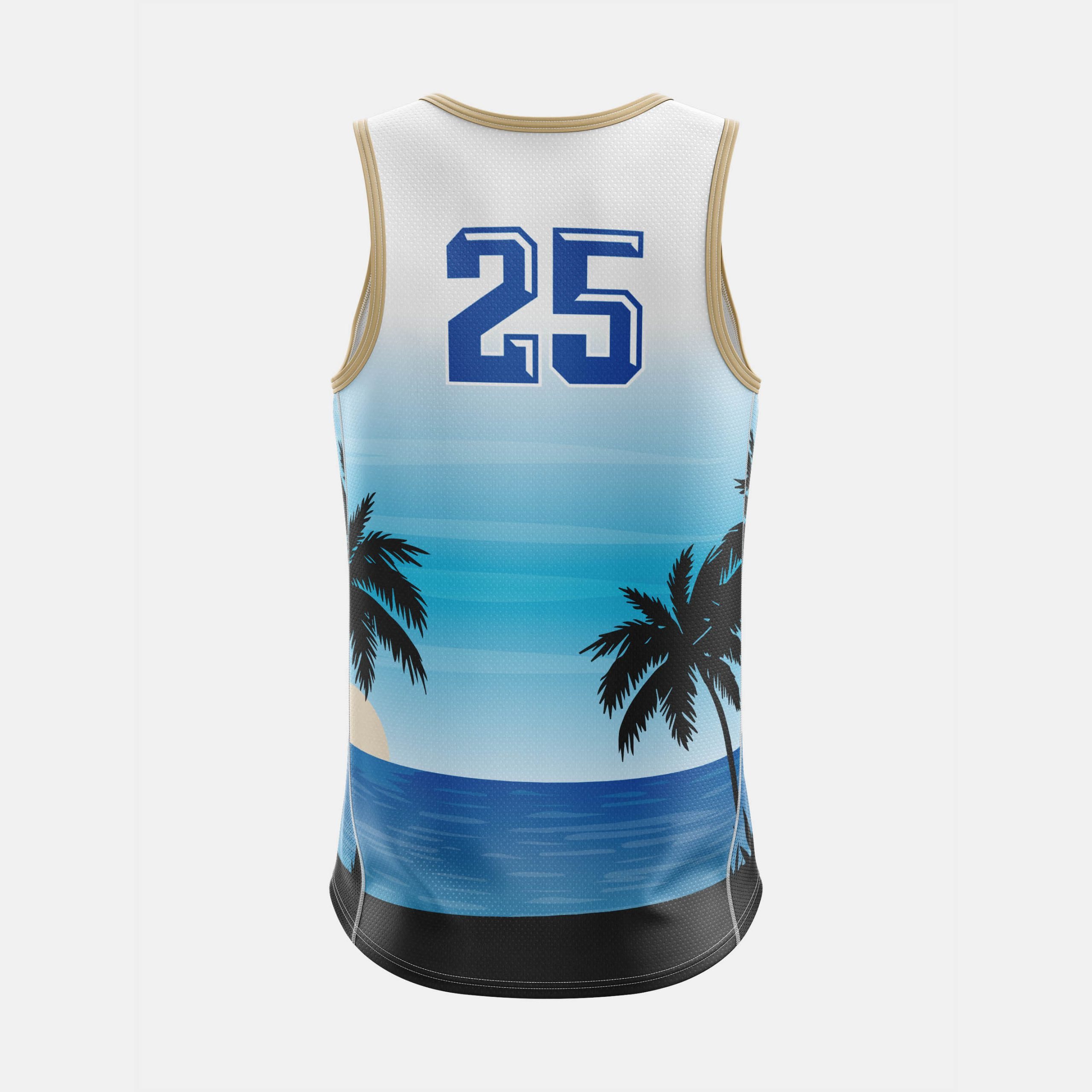 Seaside Mens Tank Back View scaled