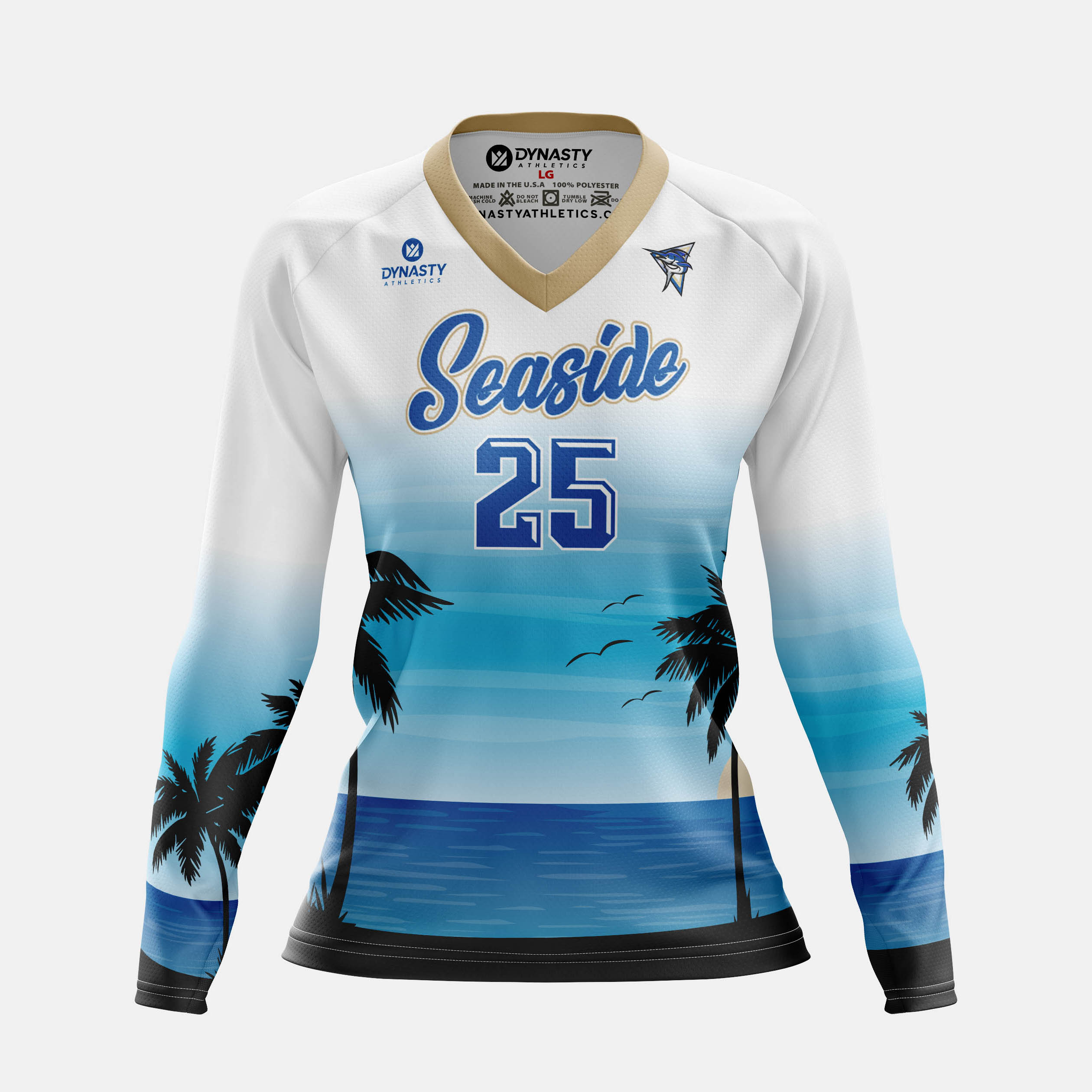 Seaside Womens LS Front View
