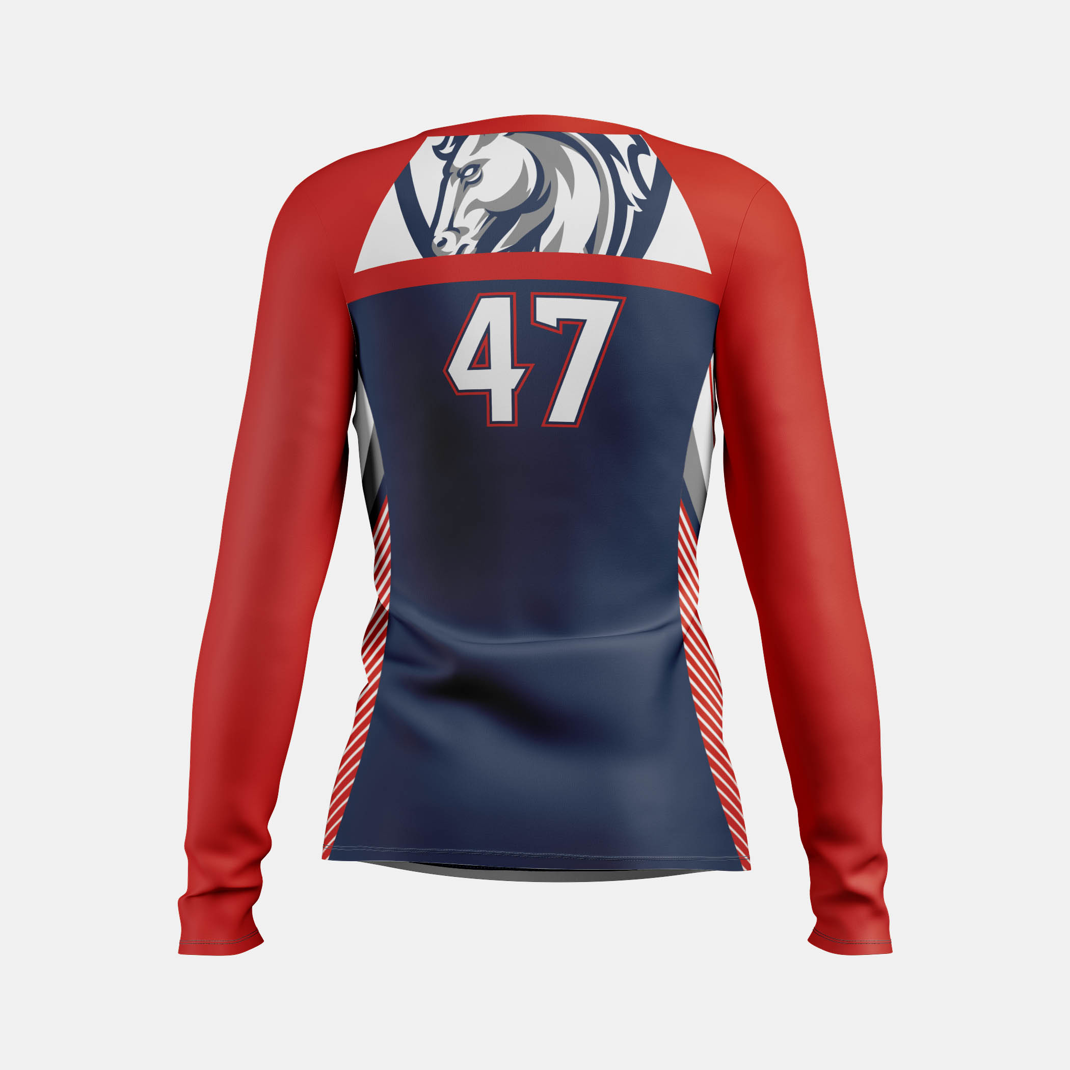 Victory Womens LS Back View