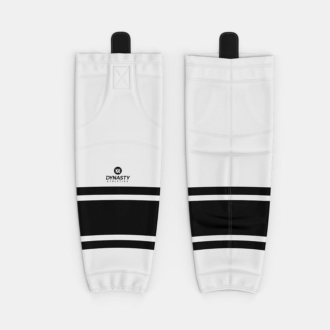 Barwis White Hockey Socks