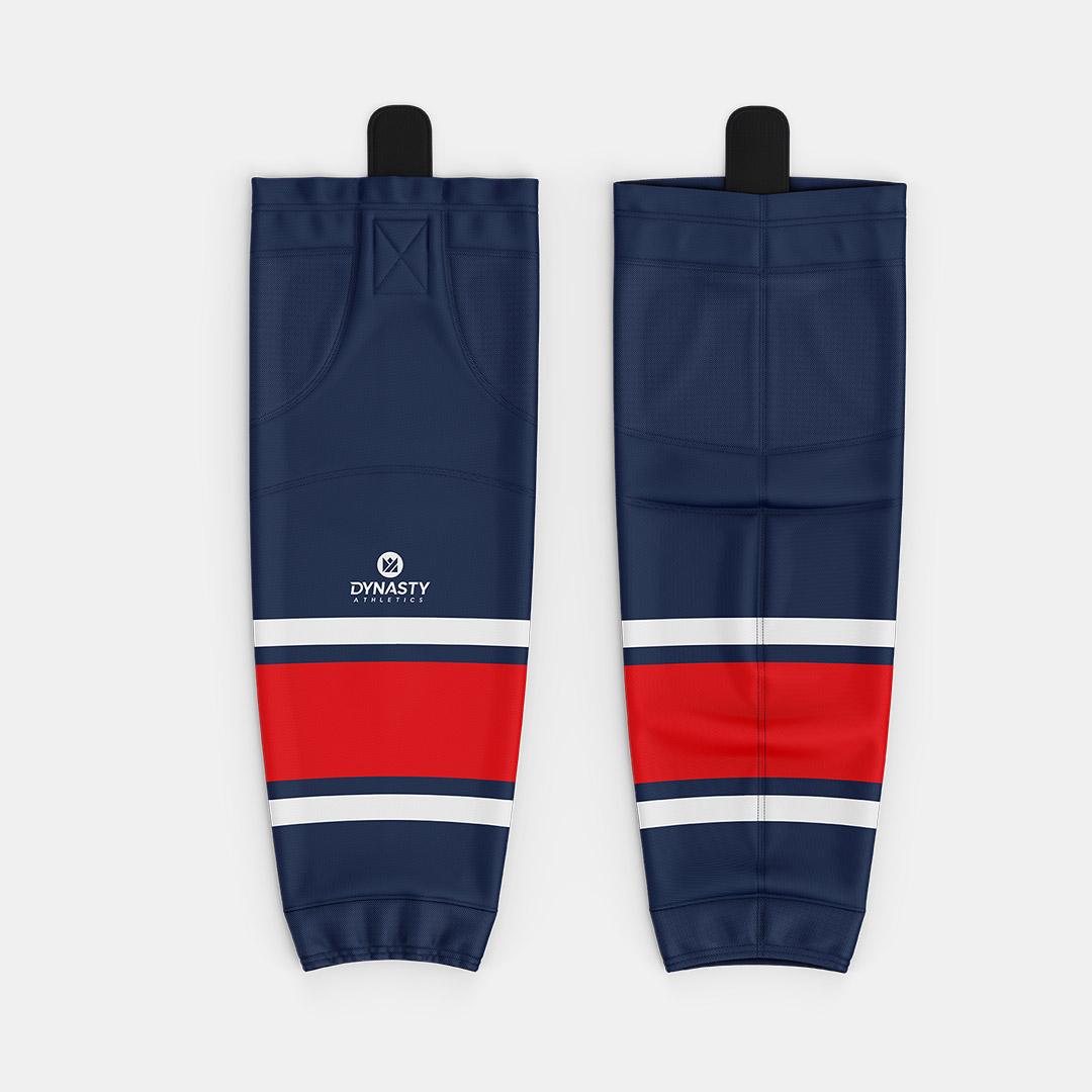 Labatt Navy Hockey Socks