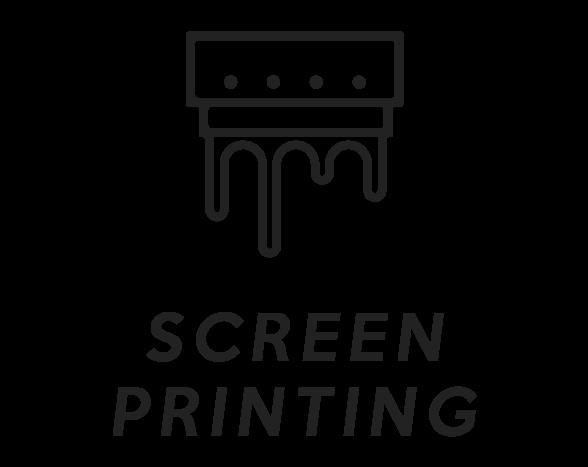 Screen Printing Black