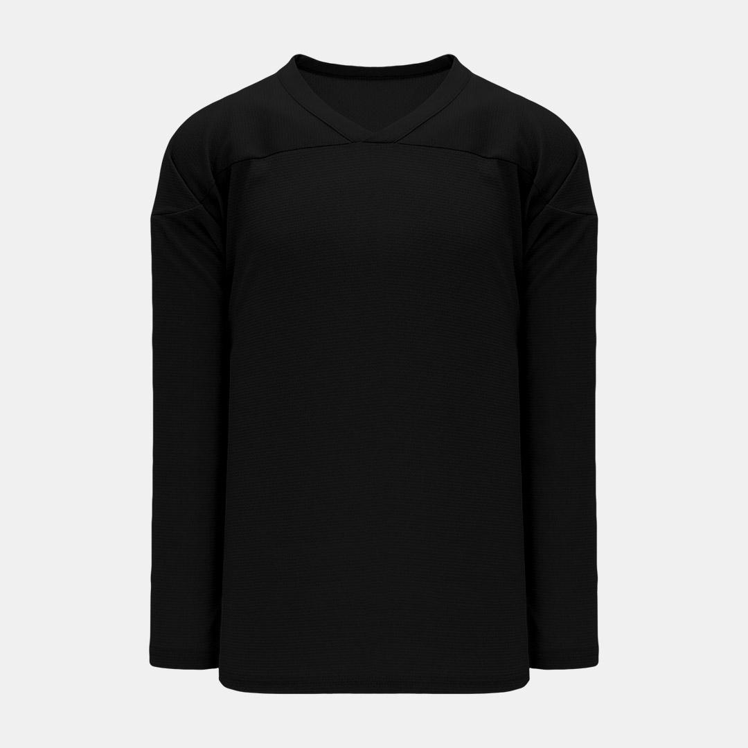 Practice Jersey Front Black
