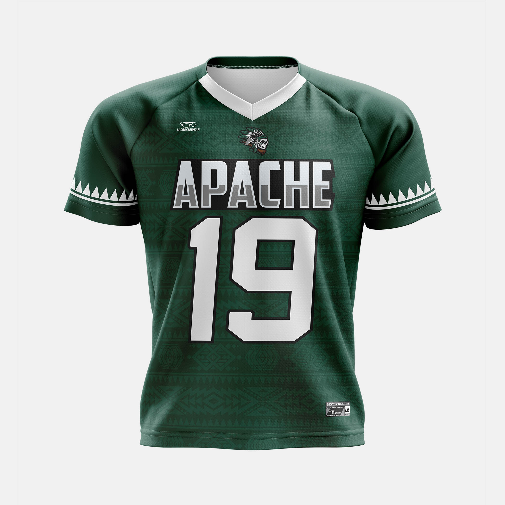 Apache Jersey Mock Front View