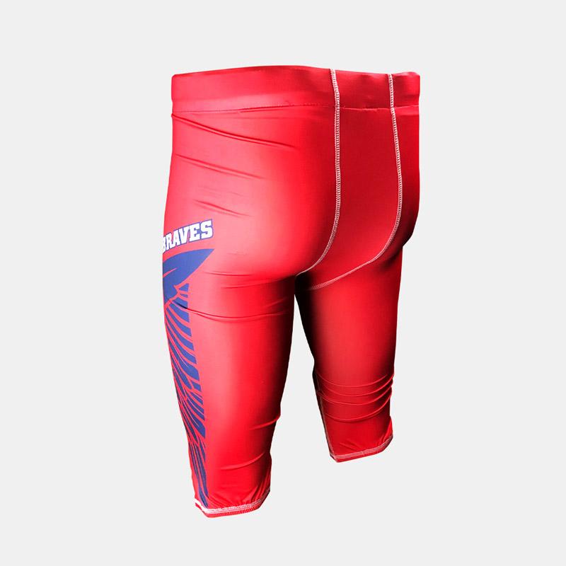 Dynasty Athletics Sublimated Braves Football Pants 3 4 Back