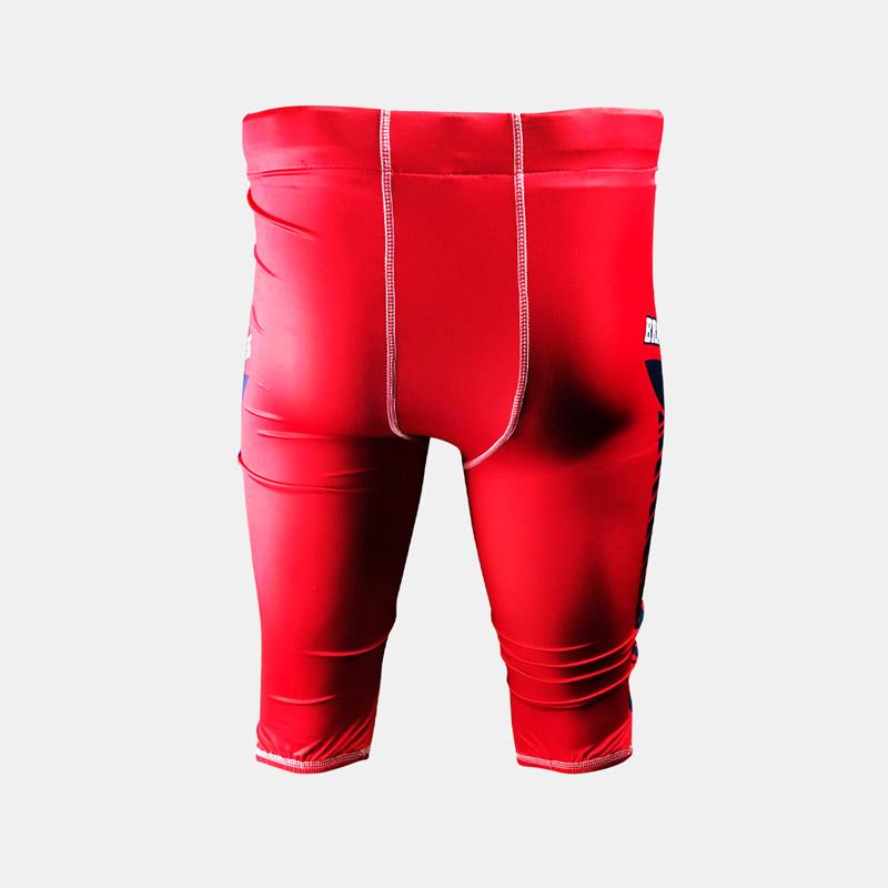 Dynasty Athletics Sublimated Braves Football Pants Back