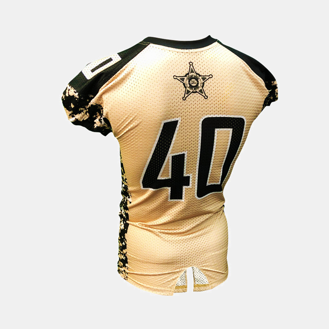 Dynasty Athletics Sublimated Football Jersey Rangers Flex Tricot Back