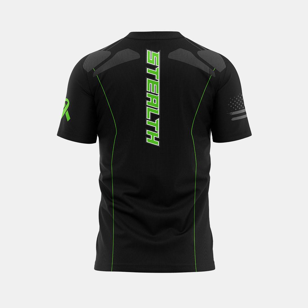 Dynasty Athletics Sublimated Shirt Stealth Back