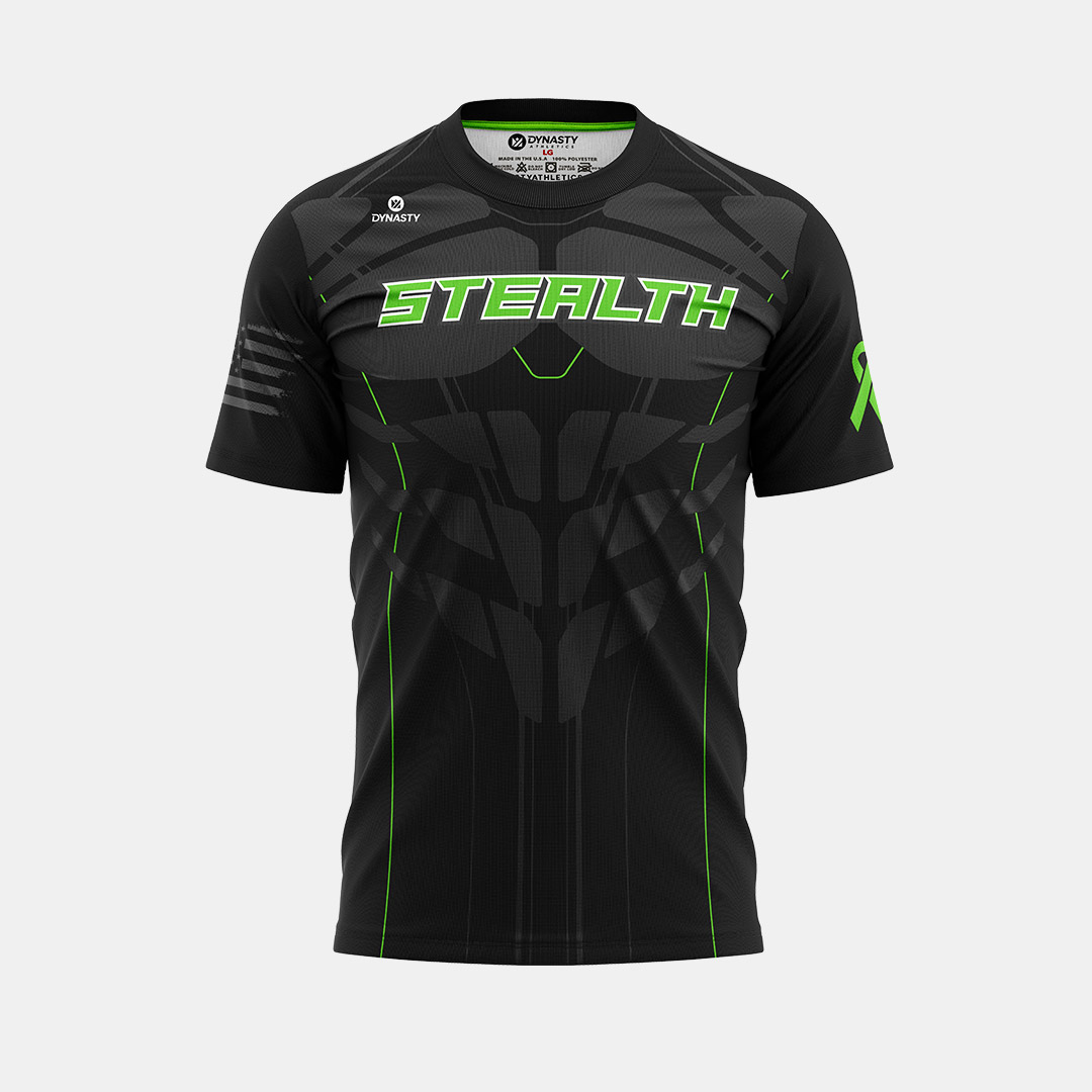 Dynasty Athletics Sublimated Shirt Stealth Front