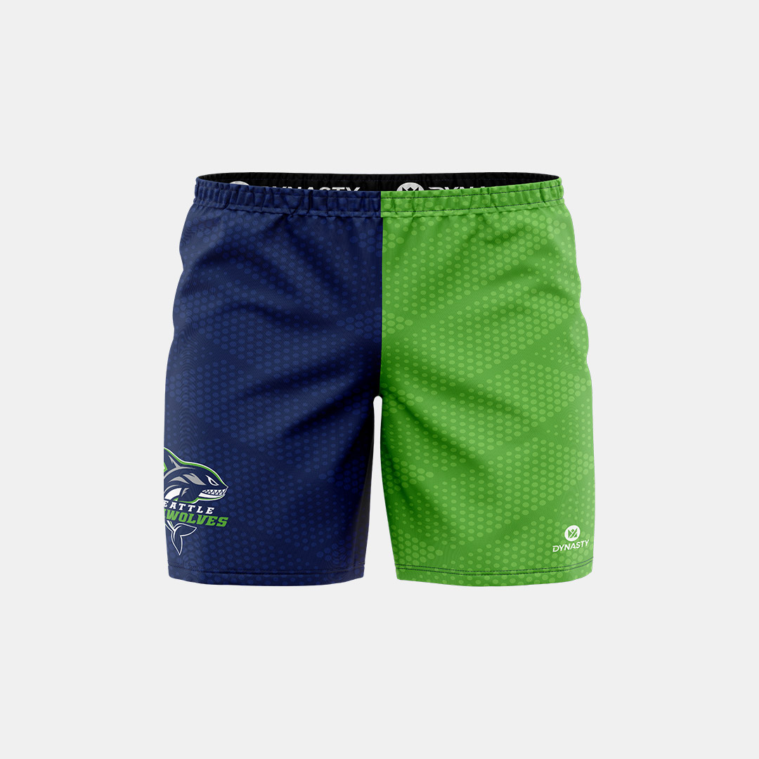 Dynasty Athletics Sublimated Shorts Seawolves