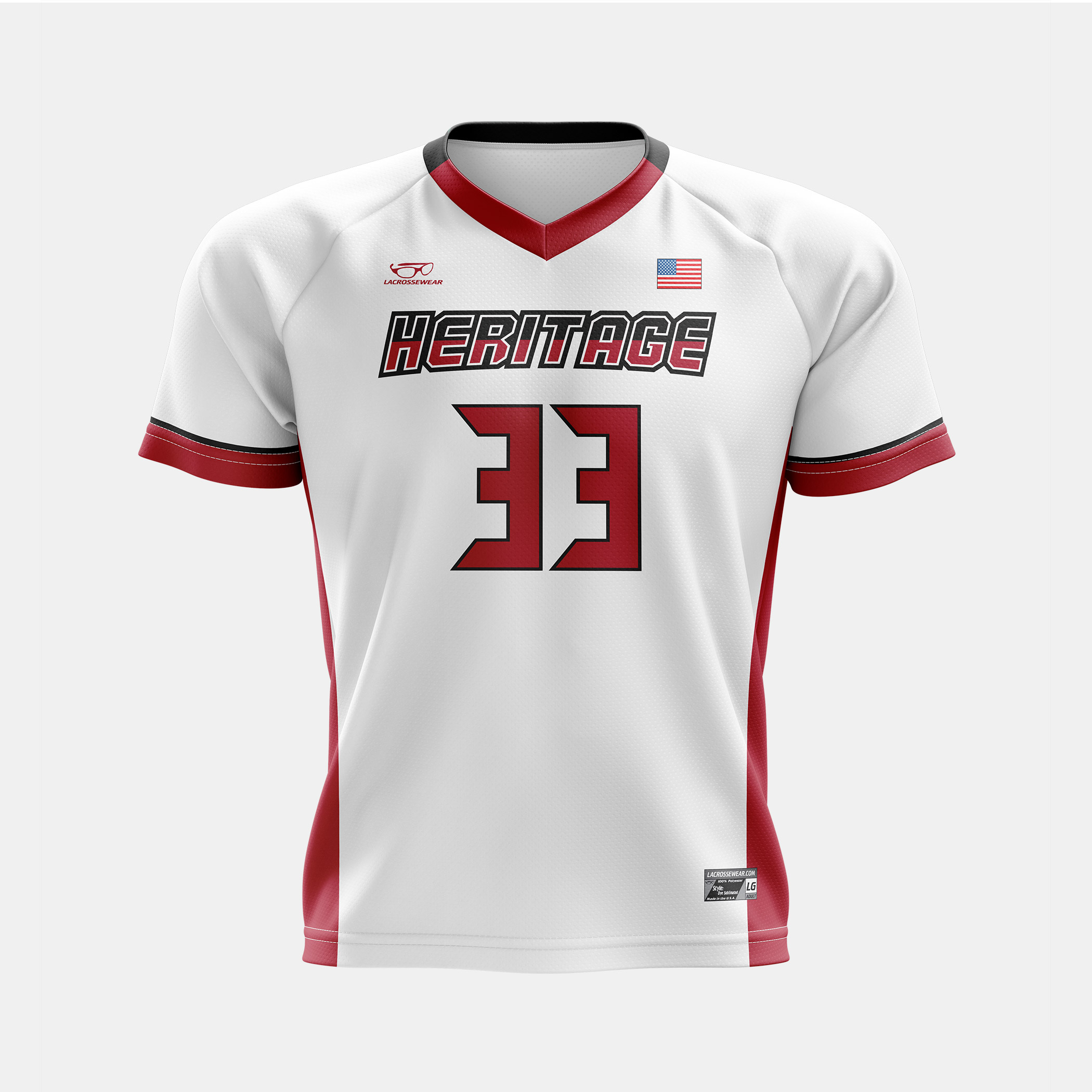 Heritage Jersey White Front