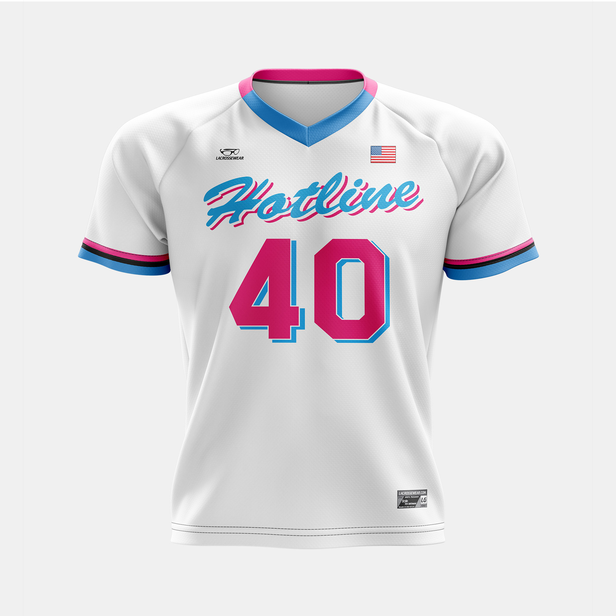 Hotline Jersey White Front