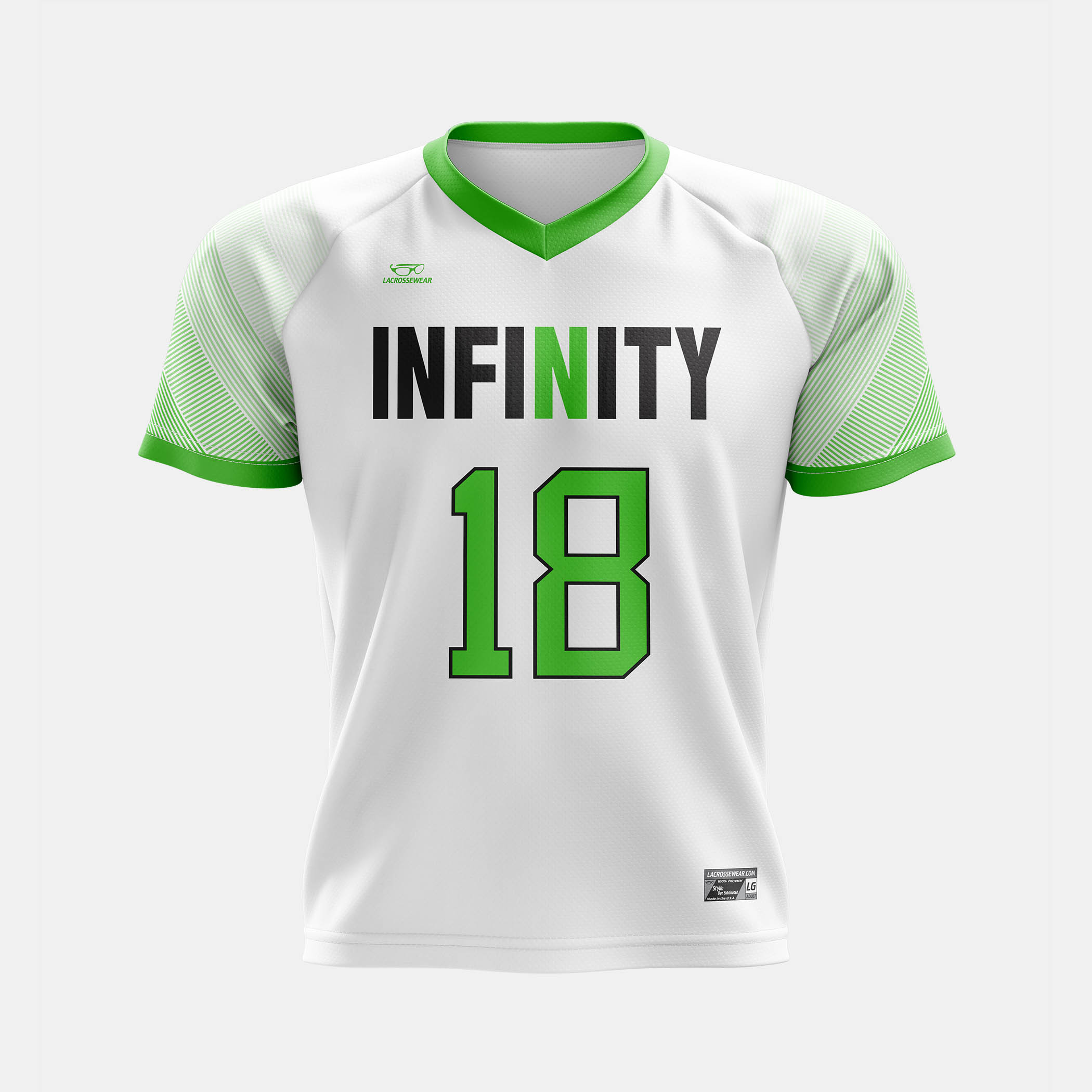 Infinity Jersey White Front