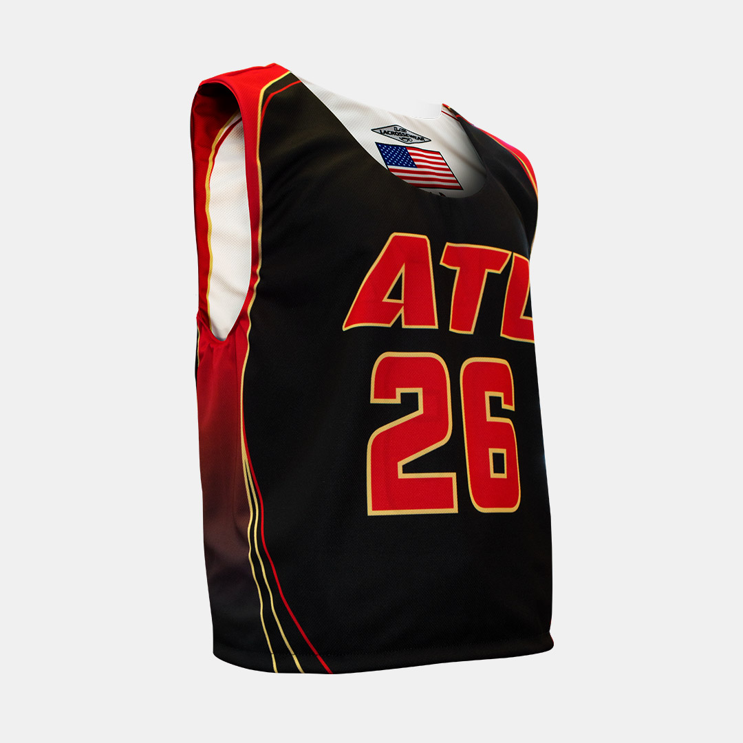 Lacrossewear Sublimated Rev Jersey ATL Black Front
