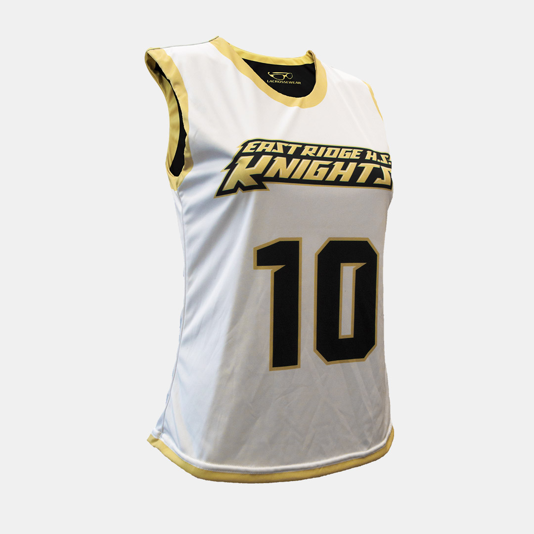 Lacrossewear Sublimated Womens Rev Jersey Knights White Front