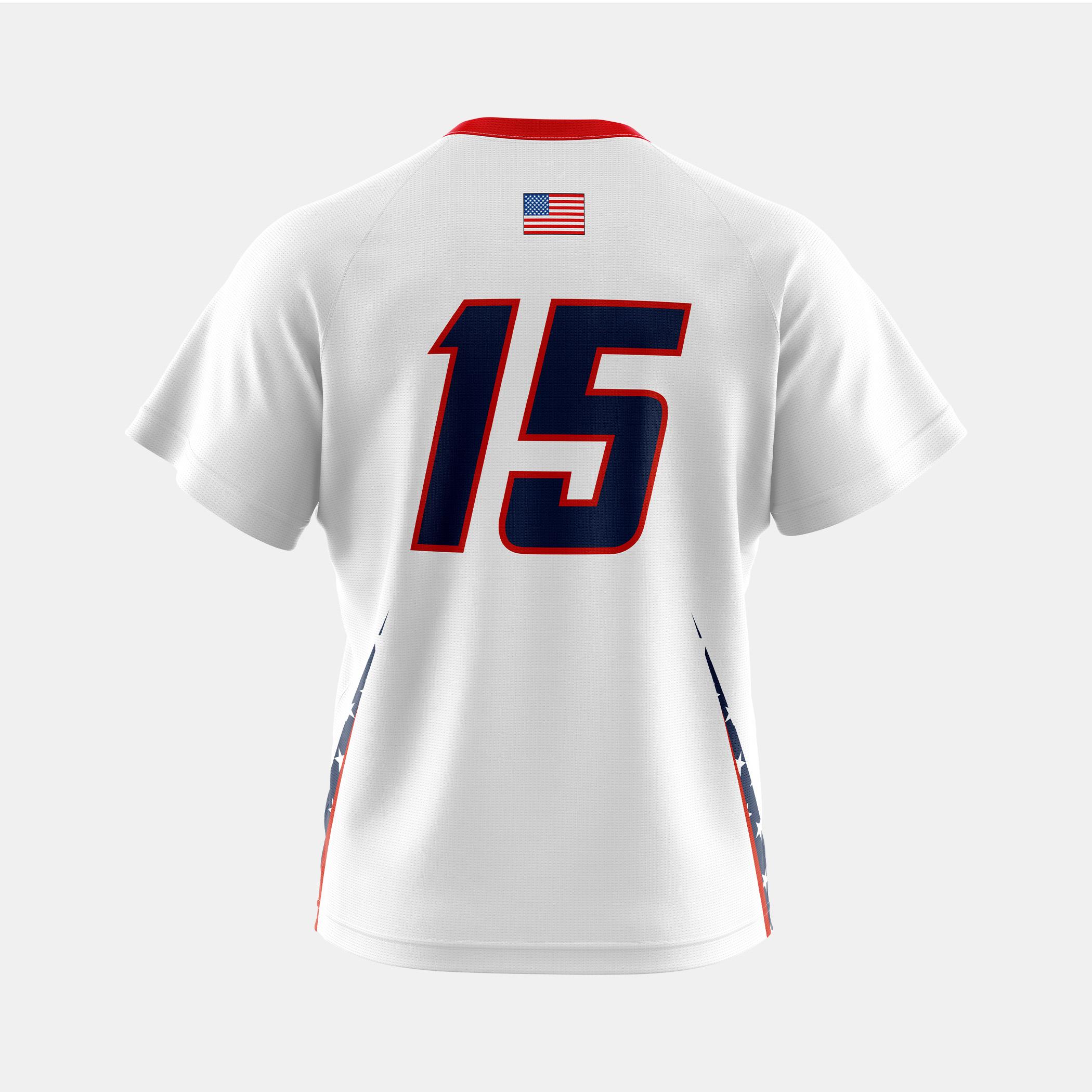 Patriots Jersey White Back
