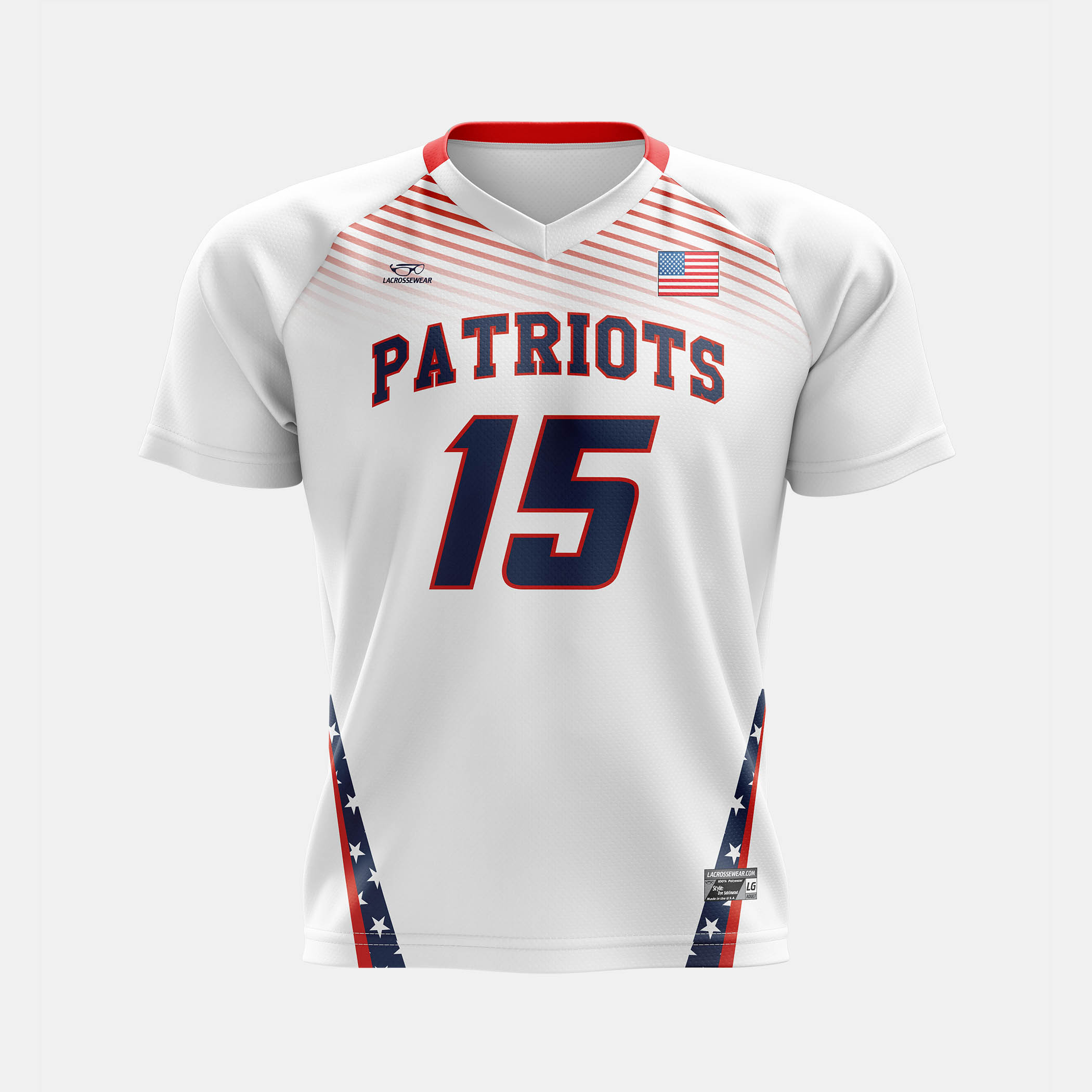 Patriots Jersey White Front