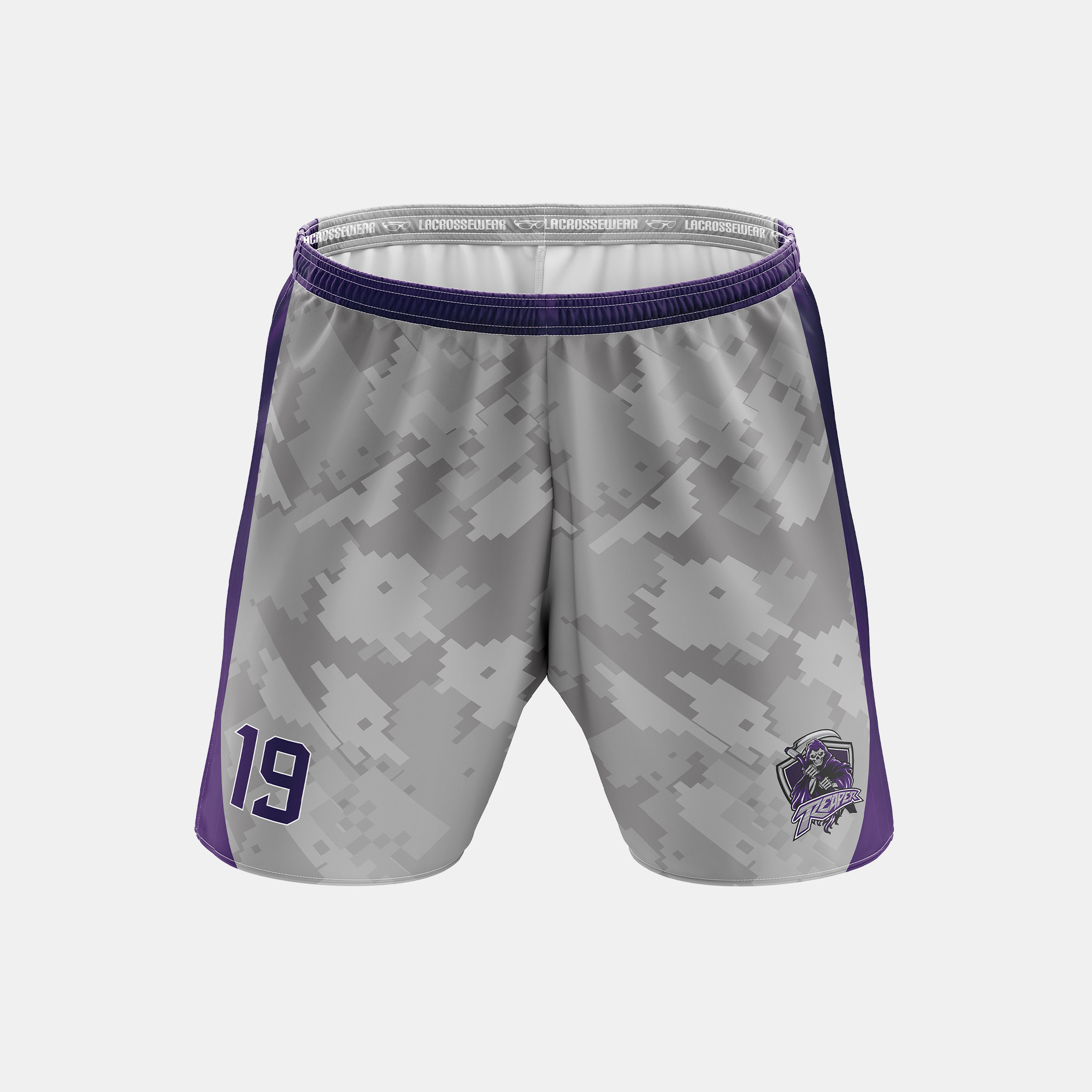 Reaper Lax Shorts Front View
