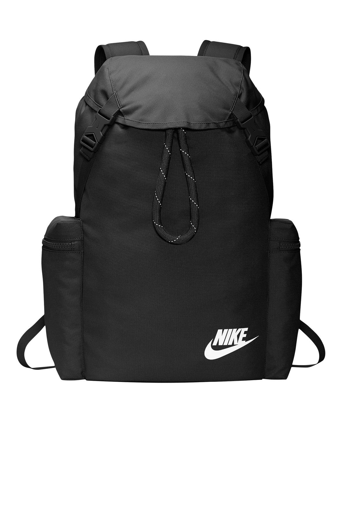 BA black flat bag front