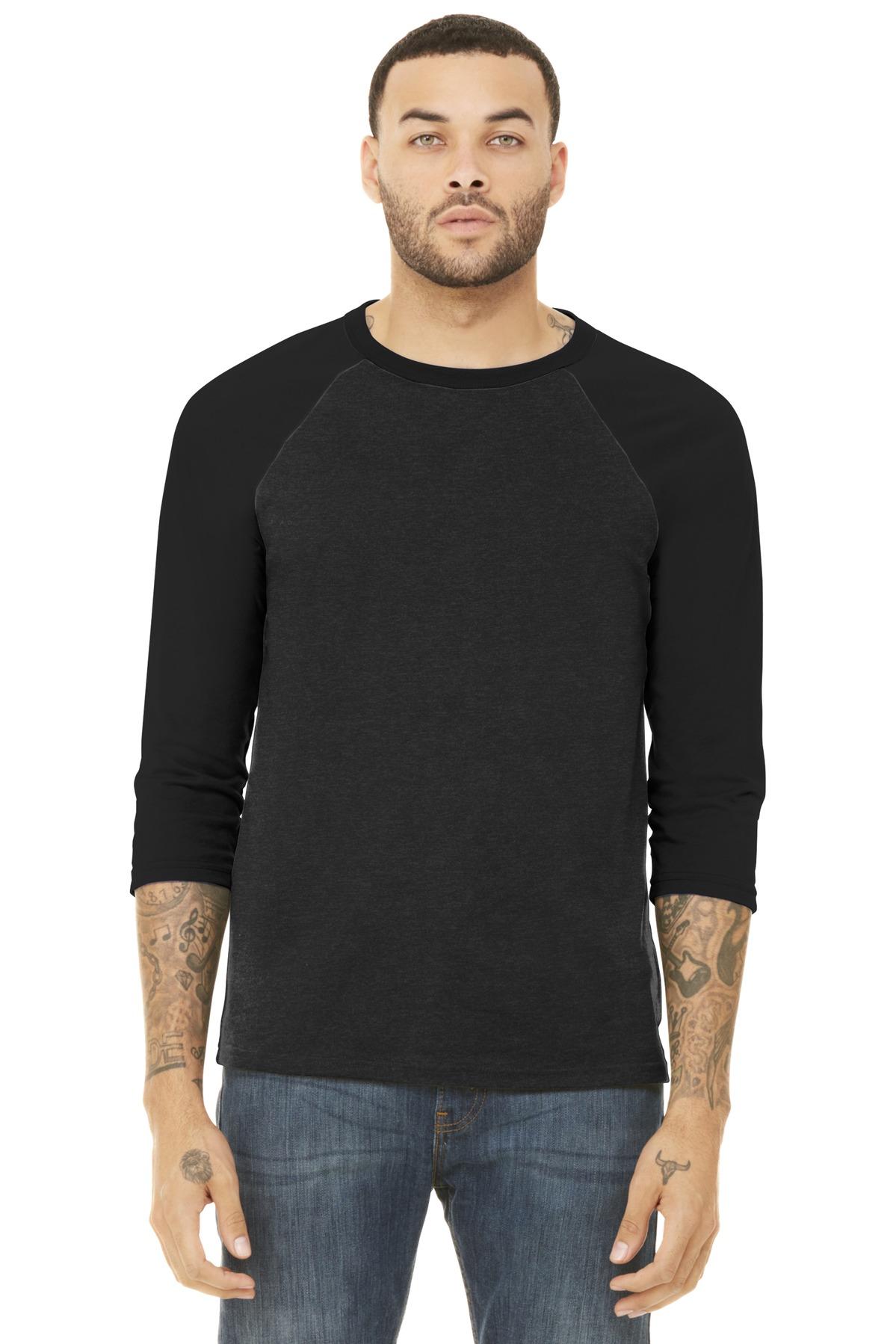 BC blackheatherblack model front