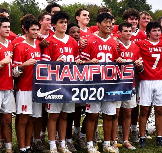 Champions Nike Lacrosse Banner