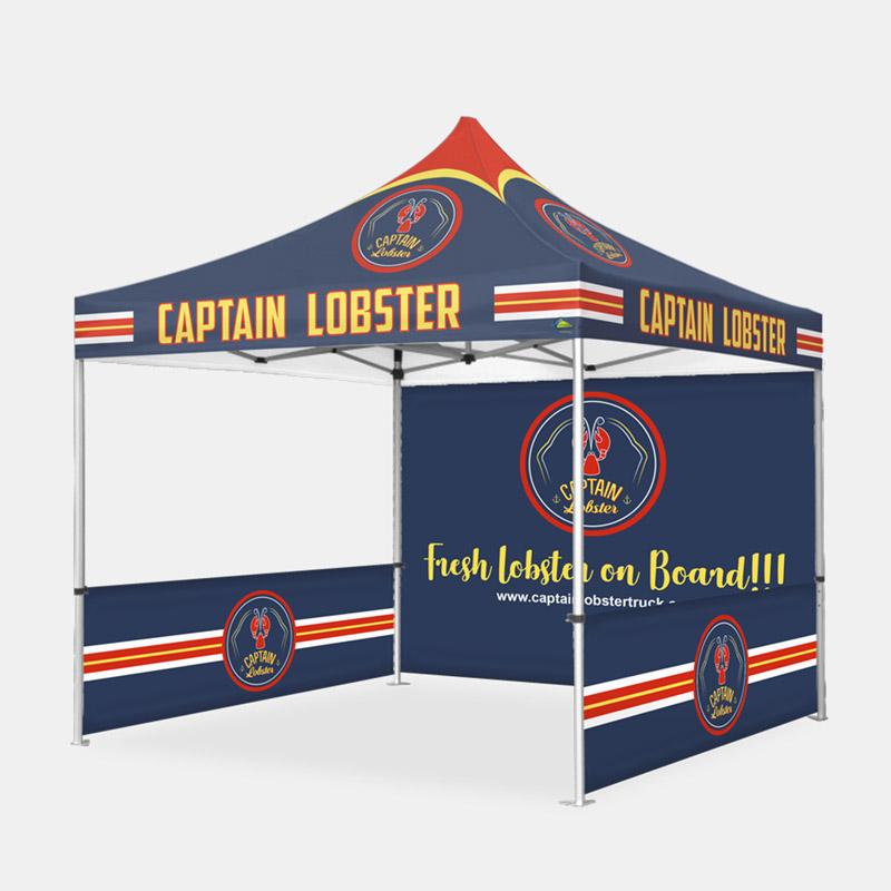 Dynasty Custom x Tent Backwall Sidewalls Captain Lobster