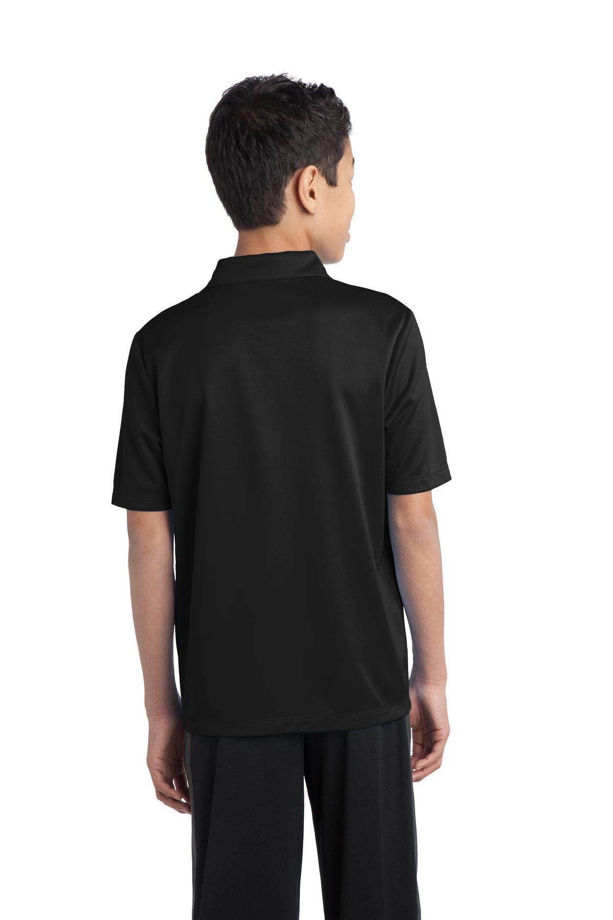Y black model back