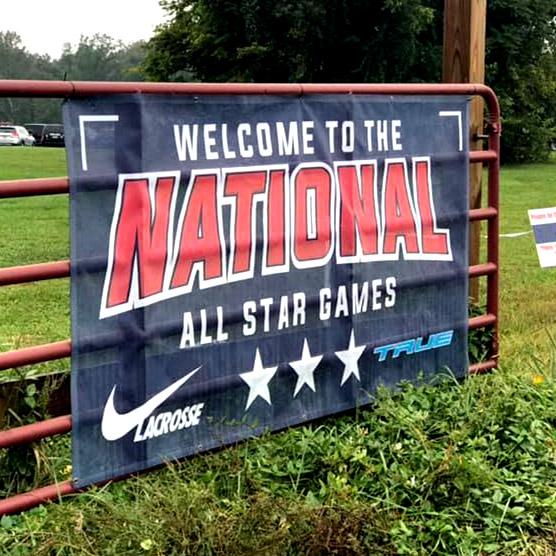 All Star Games Nike Lacrosse Banner