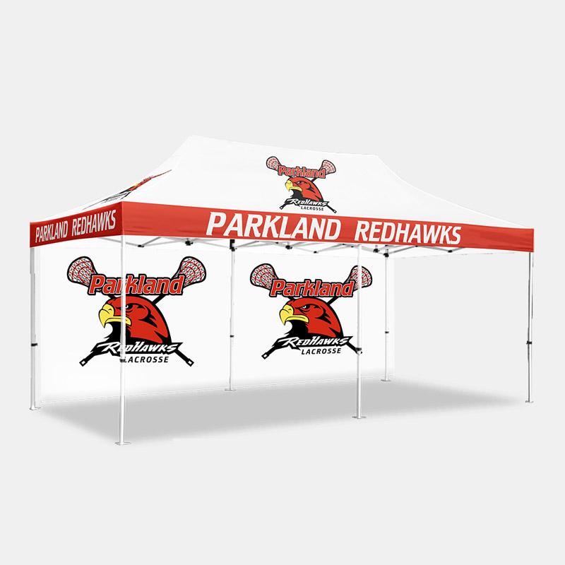 Dynasty Custom x Tent Backwall Parkland Redhawks