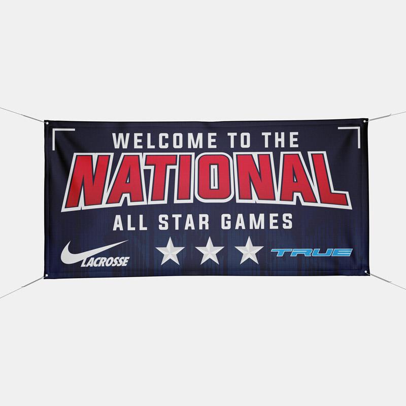 Dynasty Custom Outisde Vinyl Banner All Star Games Nike