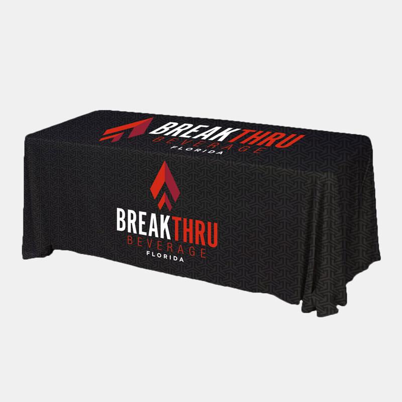Dynasty Custom Table Throw Break Thru Beverage