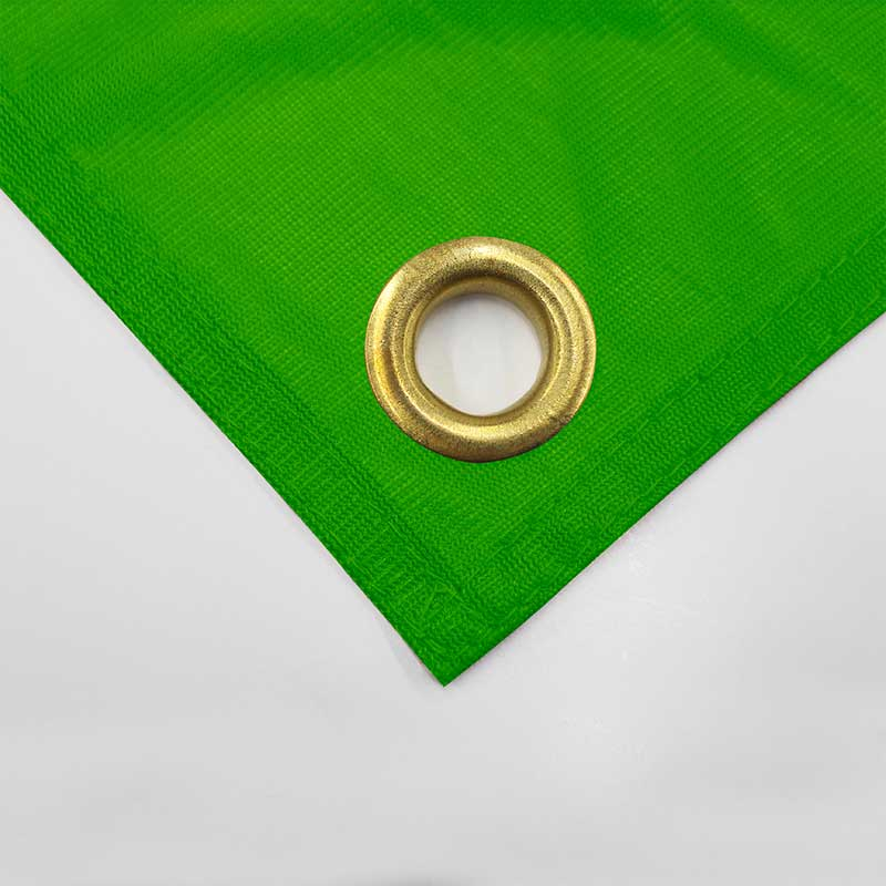 Vinyl Banner Grommets Green