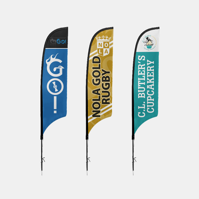 Custom Tent Covers Feather Flags LetsGo Cakery